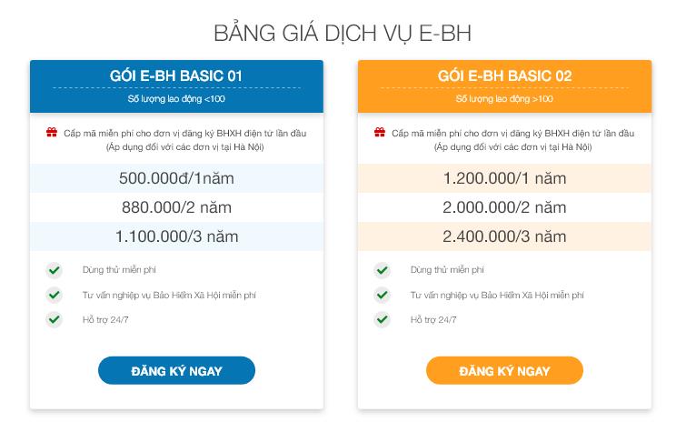 Báo giá phần mềm bảo hiểm xã hội điện tử 2
