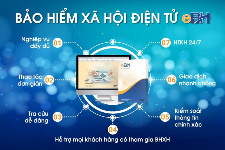 Những lợi ích khi sử dụng phần mềm khai BHXH eBH