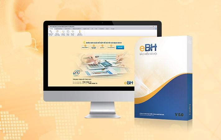 Phần mềm bảo hiểm xã hội eBH được cung cấp bởi Thái Sơn