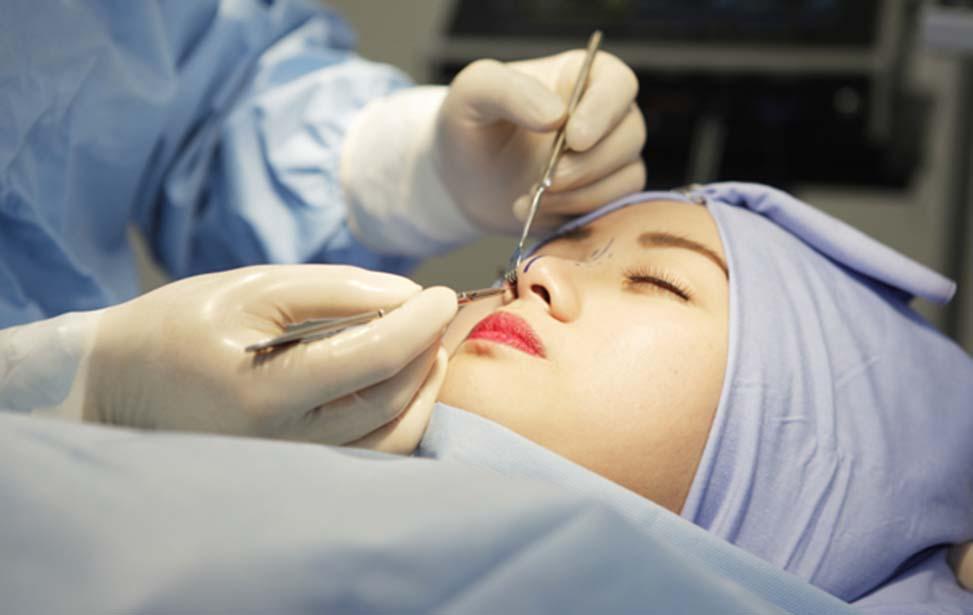 Bệnh nhân thực hiện thẩm mỹ mũi không được hưởng BHYT.
